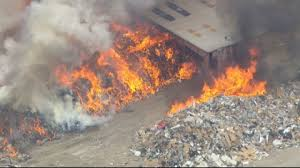 Waste and Recycling Plant Fires