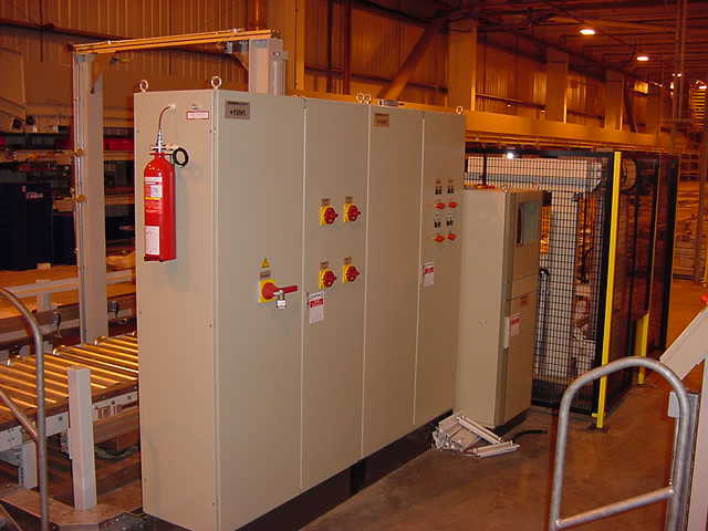 Electrical Fire Suppression Systems Panels Server Racks Firetrace