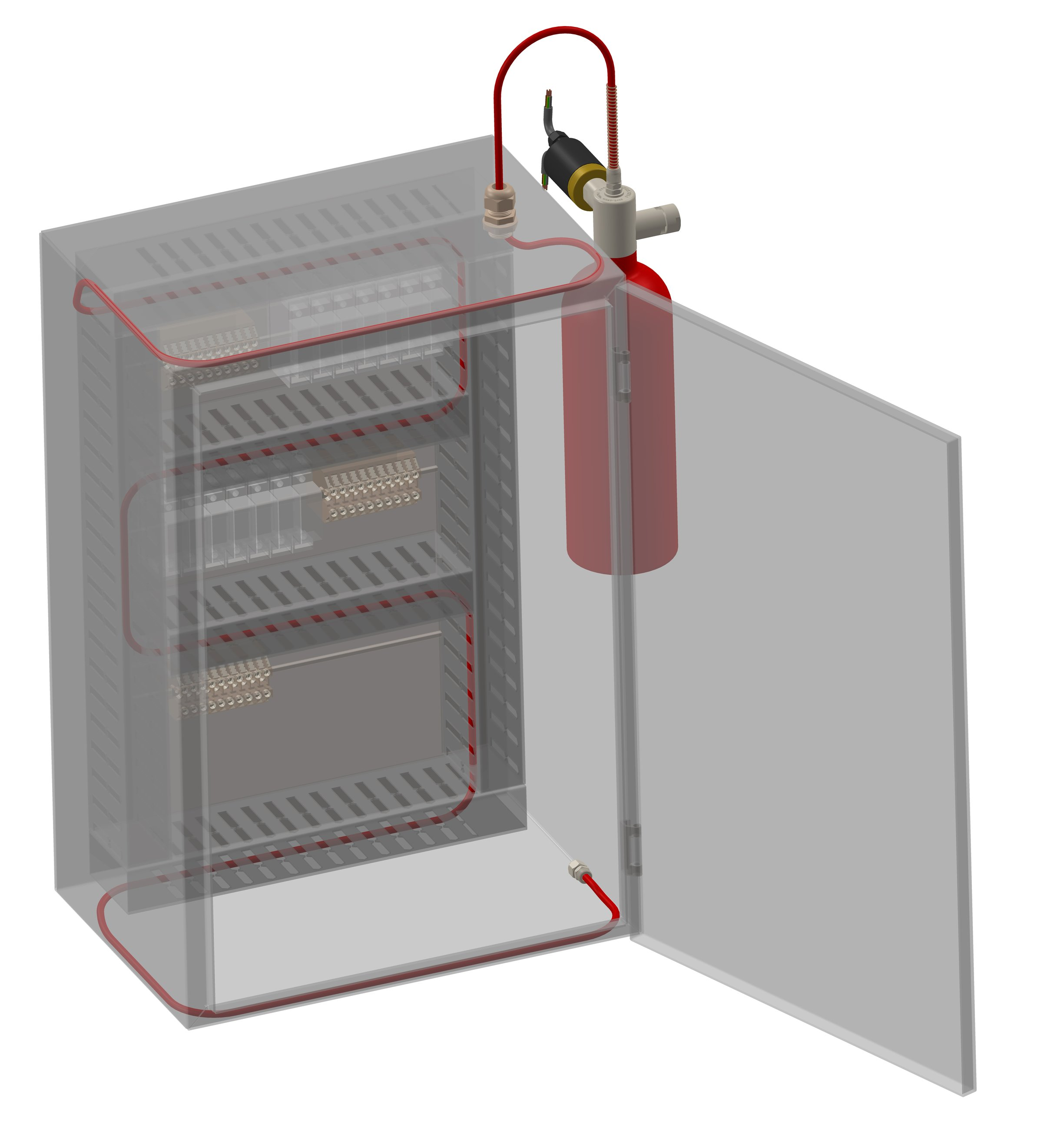 Electrical Fire Suppression Systems – Panels & Server Racks