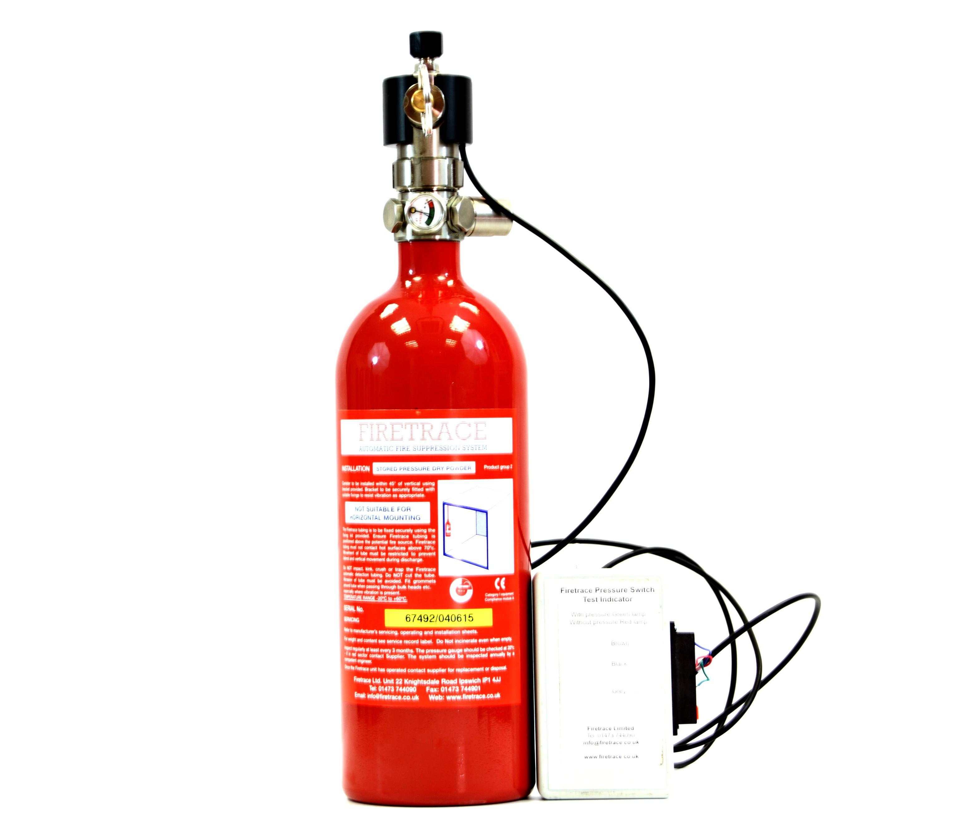 Status Indicator Module Firetrace Equipment Using Two Led Dpp 02482
