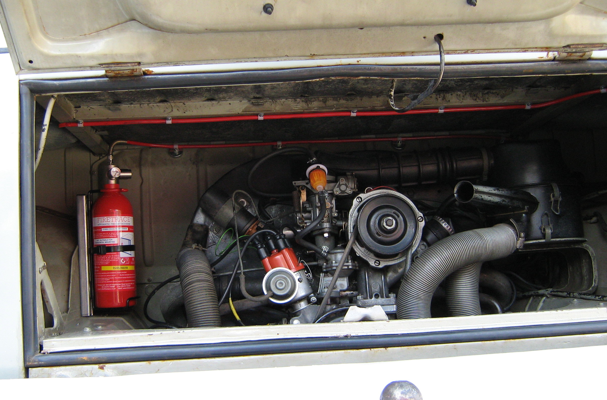 Vehicle Fire Systems : Firetrace vehicle fire suppression system