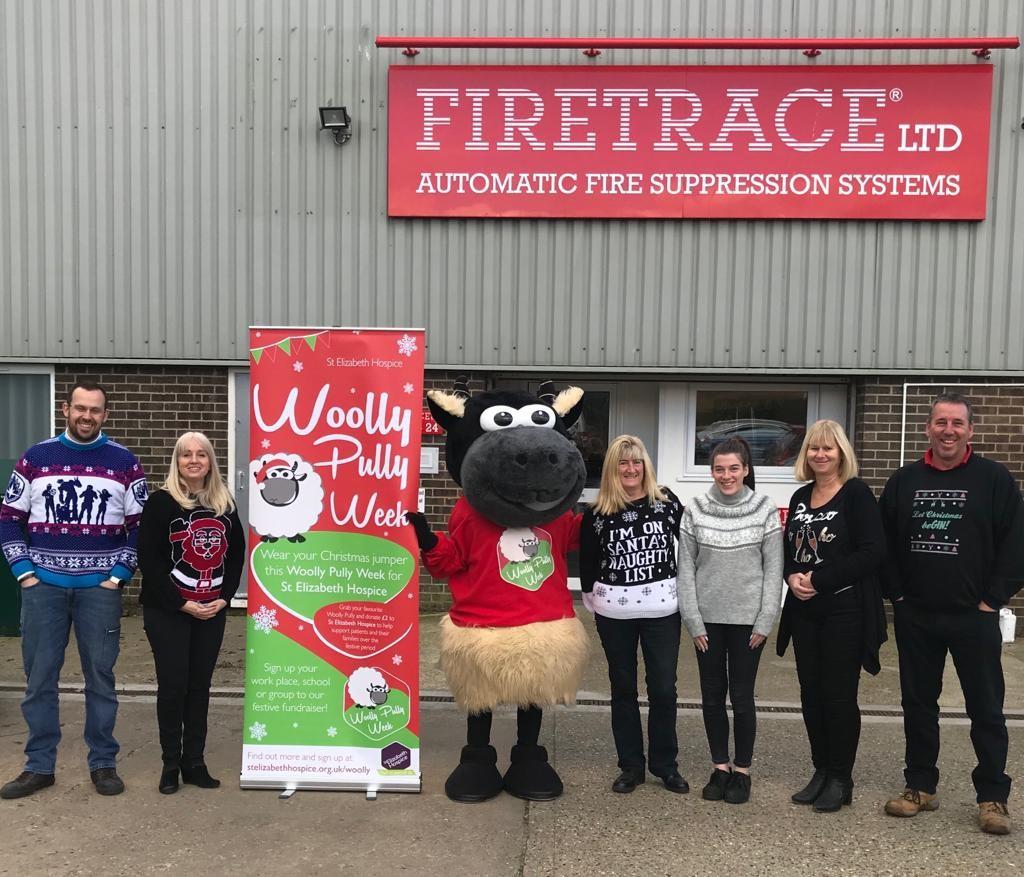 Firetrace Ltd support Woolly Pully Week 2019.